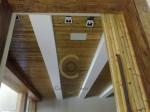 revestimento de porta e forro - rgua autoclavada -  4cm - acabamento em stain - arquiteto fabio galeazzo