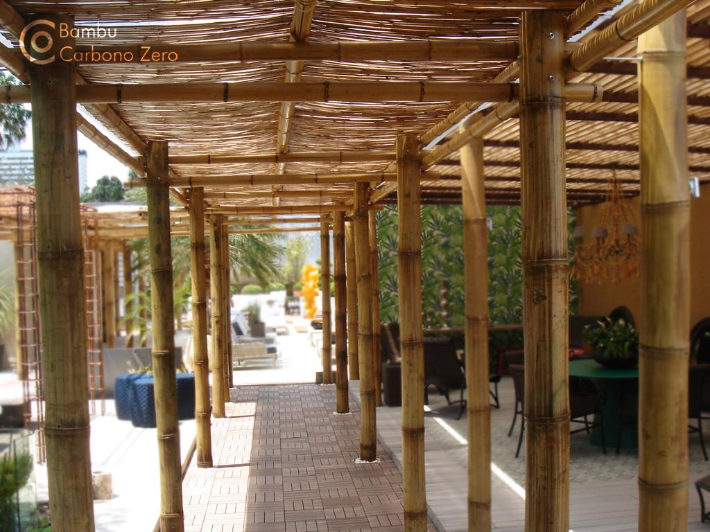 P rgola de bambu - Pergolas de bambu ...